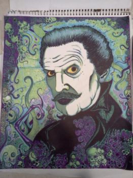 Vincent Price by Acidhands