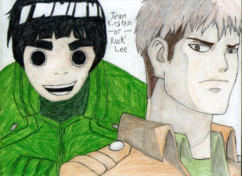 Lee-or-Jean by Gillmusashi