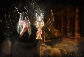 The Druid King by TheCoverArtisan
