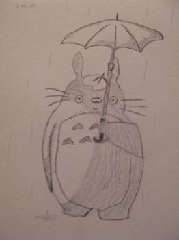 Totoro by Lady-Of-The-Pen