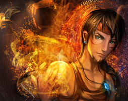 :: Fire Bender :: by Sangrde