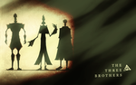 The Three Brothers Wallpaper by peppermintfrogs