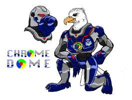 Heroes -- Chrome Dome by SUPERcubs