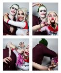 Harley and Joker - Photobooth (Ver 2) by Mirish