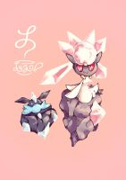 Diancie And Carbink