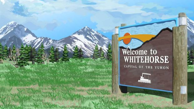 Welcome to Whitehorse Picture by patcoola