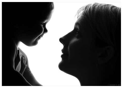 mother and daughter by PB-HASS