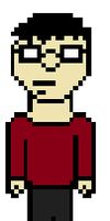 Opinion Guy 8-Bit by Buizleflare