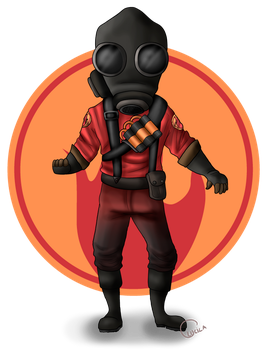 Pyro by thelittleanimals