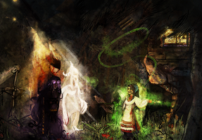 Baba Yaga Commands by 9ofcups