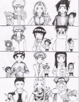 naruto teams by juhaihai