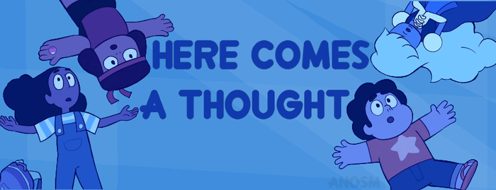 Here Comes A Thought Banner by dennismennis13