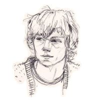 Evan Peters as Tate in american horror story by a-l-i-c-e-r-o-s-e