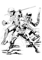 DS 496 Snake Eyes and Gambit by RobertAtkins