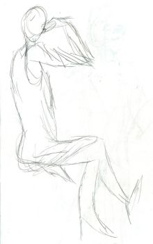 One-minute gestural by fanime1
