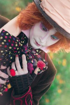 The Sadness of the Mad Hatter by Skrocco