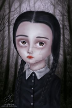 Wednesday Addams by EdaHerz