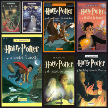 Libro - Saga Harry Potter by GypsyHeartDrug