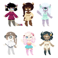 [ PENDING ] Halloween Designs by Sergle