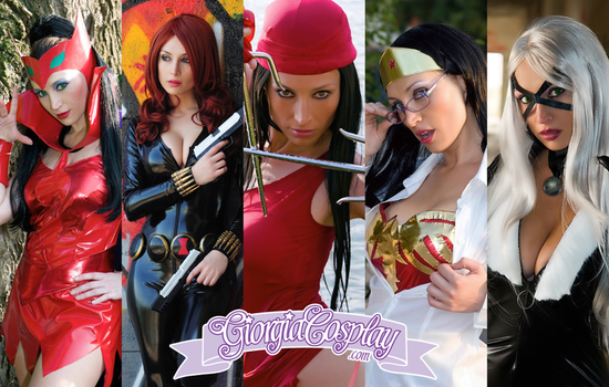 COMICS HEROINES by Giorgiacosplay