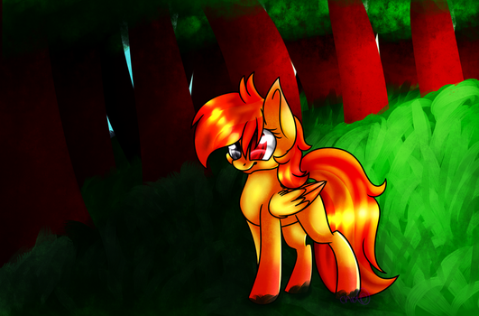 Art Trade with imjusthere123 by SodaPopFairyPony