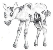 Zombie Calf by Yeral