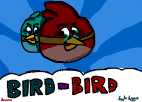 Angry Bird-Bird by RayForAwesome