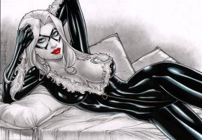 Rubismar: Black Cat by comiconart