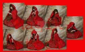 red ridding hood set 1 by magikstock