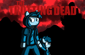 My take on the Trotting Dead by lazyradly