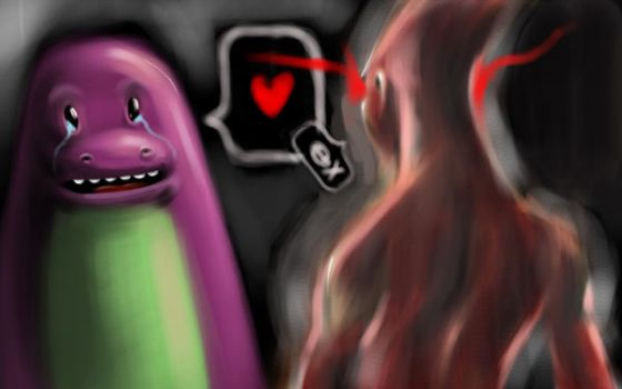 Love or Death? by halcyonblack