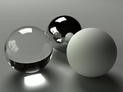 3 Spheres by Zortje