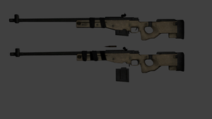 L96 Sniper Rifle - Rigged with in-game bones by ProgammerNetwork