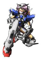 Exia girl by Mike-Oliveras