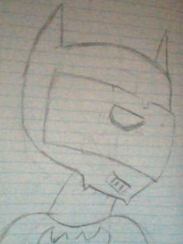 Look its a wanna be a Batman omg by Basherkid