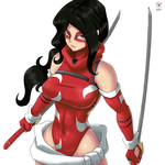 Scarlet Lotus Anime Style by LadyDreamMaker