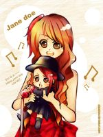 Jane Doe sing together by pipapipo