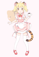 Wendy the Tiger Maid by Rain-ette