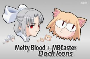Melty Blood Dock Icons by jb55