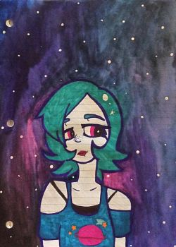 Galaxy Watercolor by Sketchy928