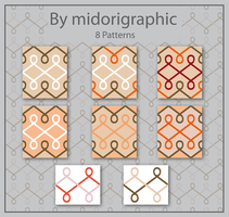 8 abstract patterns by midorigraphic