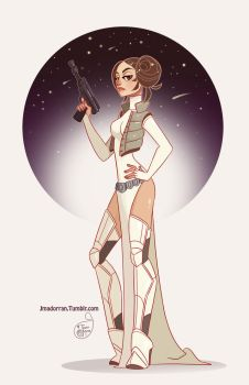 Princess Leia by MeoMai