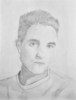 Rob Pattinson by UtterlyAbsurdBella