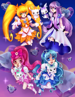 Heartcatch Precure! by nuxi-chan