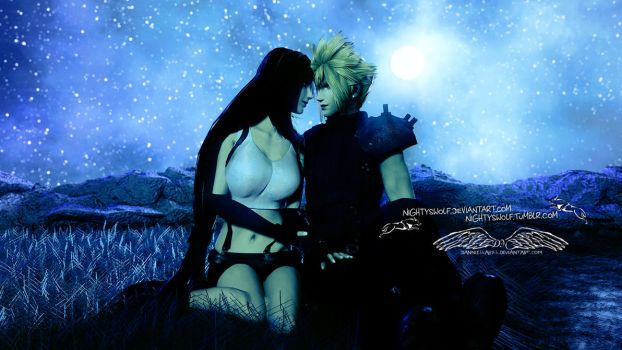 What is Cloud Strife s relationship with Tifa Aeris and Sephiroth