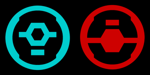 Ur-Didact and IsoDidact symbols by Lopez-The-Heavy