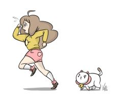 Bee and puppycat by AskPrincesMultifruit