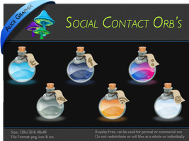 Social Media Icon Pack by AliceGraphix
