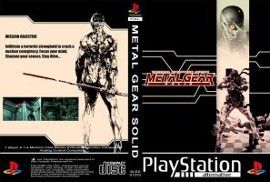 Metal Gear Solid PSX Cover by PixelRambo