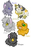 Warrior Cats: First Series pt1 by foxberrystudios